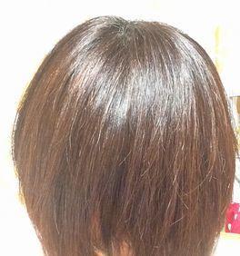 若い髪を保つわたしの秘密