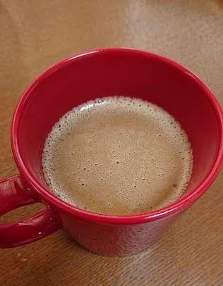撹拌したバターコーヒー